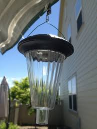 Solar Umbrella Lights by Gadgets Page How To Make A Hanging Solar Light