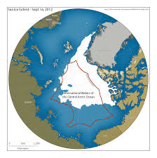 Iup Map With Ice Melting U S Pushes For Limits On Fishing In Arctic