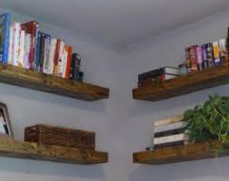 hexagon shelves wood floating shelves bathroom shelves