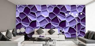 wandgestaltung lila haus renovierung mit modernem innenarchitektur kühles tapeten