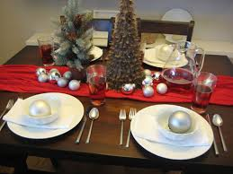 simple christmas table settings set the table for christmas dinner with style this holiday season