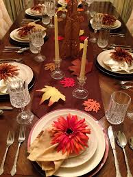 thanksgiving table setup it my own creations