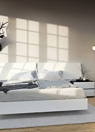 Queen Size Platform Bed - nexera 346003 acapella queen size platform bed white queen bed