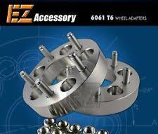 mustang 4 to 5 lug adapters 5x4 5 wheel spacers ebay