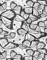 v59 free black white butterfly seamless pattern designers nexus
