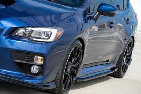2015 subaru wrx cf500 2015 subaru wrx sti composite blend side skirts