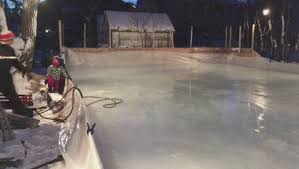 Backyard Ice Skating by Winnipeg Family Builds Epic Backyard Ice Rink In North Kildonan