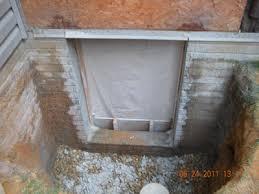 egress windows and egress doors basement waterproofing