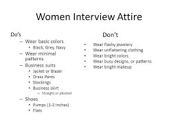 the dos and dont of dress code women interview attire dos u2013 wear