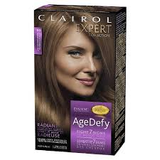 light golden brown hair color clairol age defy expert collection hair color light golden brown