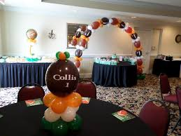 theme centerpiece how to personalize a link o loon theme football centerpiece