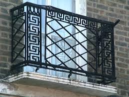 deck rail planters lowes wrought iron patio railing u2013 hungphattea com