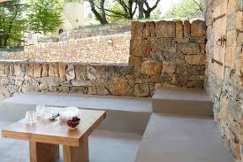cuisine exterieure beton cuisine d extérieur en béton ciré
