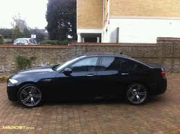 bmw black my azurite black individual f10 m5 delivered