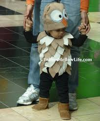 Halloween Owl Costume by Dressing Up My Wild Thing Halloween Owl Costume Yellow Mellow Life