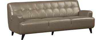 Contempo Leather Sofa by Middle Class Modern 11 Super Affordable Mid Century Modern