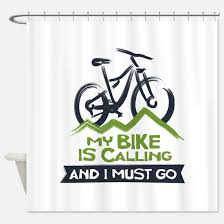 Our New Shower Curtain 10 Bicycle Shower Curtains Cafepress