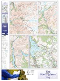 Quick Maps West Highland Way Route Map