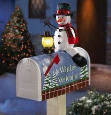 Christmas Mailbox Decoration Ideas Ideas To Dress Up Your Mailbox In A Fairy Tale Look For This