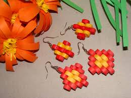 Step Design by Quilling Earrings Step Design Youtube