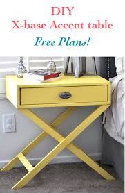 Diy Table Plans Free by How To Build An X Leg Accent Table Free Plans Anika U0027s Diy Life