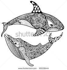 whale tattoo stock images royalty free images u0026 vectors