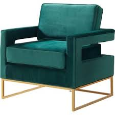 Turquoise Armchair Modern Armchairs Allmodern