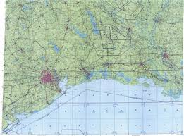 Galveston Map Download Topographic Map In Area Of Houston Baton Rouge