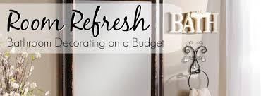 bathroom decorating on a budget kirklands