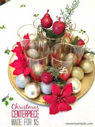 cheap centerpiece ideas 34 creative christmas centerpieces diy