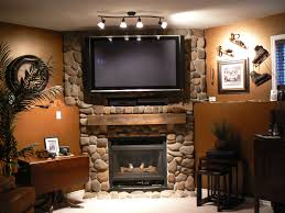 fascinating dimgrey fireplace mantel lights cool brown wall paint