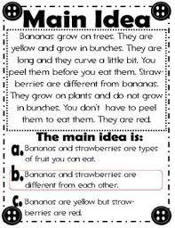 27 best first grade main idea images on pinterest teaching ideas