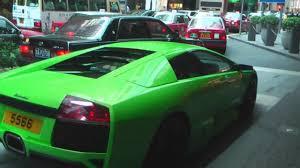 Lamborghini Murcielago Green - green lamborghini murcielago lp640 v 12 queens rd central hong