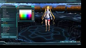 hair color change pso2 youtube