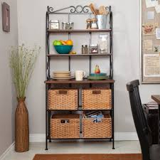 How To Decorate A Bakers Rack Great Ideas For Bakers Rack Bakers Rack For A Functional Purpose