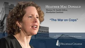 Donald Macdonald by The War On Cops Heather Mac Donald Youtube