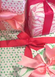 Handmade Gift Wrapping Paper - spray painted lace wrapping paper