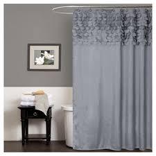 Target Gray Shower Curtain Grey Shower Curtain Target