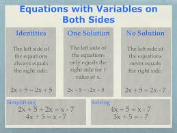 2 4 solving equations with variables on both sides algebra one