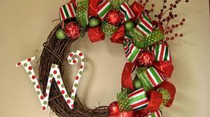 christmas wreath decorating ideas youtube