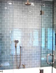 Bathroom Shower Ideas Pictures Colors Best 25 Glass Tile Bathroom Ideas Only On Pinterest Blue Glass