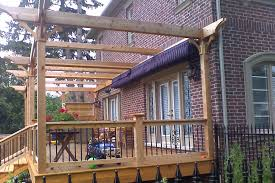 Side Awnings Side By Side Retractable Awnings Shadefx Canopies
