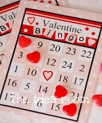 valentines bingo bingo cards the idea room