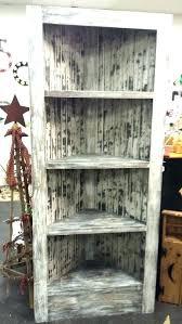 Cherry Corner Bookcase Wooden Corner Shelves Furniture Cherry Wood Corner Bookcase