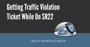 does a red light ticket affect insurance getting traffic violation ticket while on sr22 jpg
