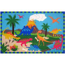 Colorful Kids Rugs by Fun Rugs Fun Time Jurassic World Kids Rugs 39