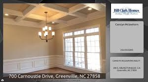 Bill Clark Homes Floor Plans by 700 Carnoustie Drive Greenville Nc 27858 Youtube