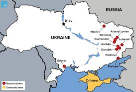Map Of Ukraine And Crimea Putin Meets Ukraine U0027s New President For 1 Minute Obama For 10