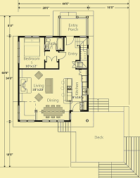 Vacation Cottage Plans by Small Vacation Cottage Plans For A Simple 3 Bedroom Home