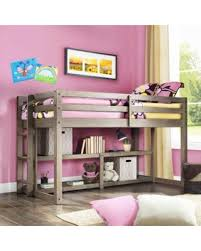 amazing deal on better homes and gardens loft storage bed with